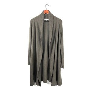 Cabi style duster shawl long cardigan knit medium